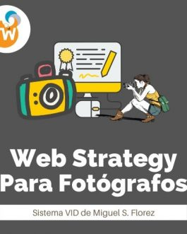Web Strategy Para Fotógrafos