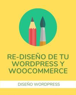 Actualización del Diseño y Temas para WordPress y Woocommerce