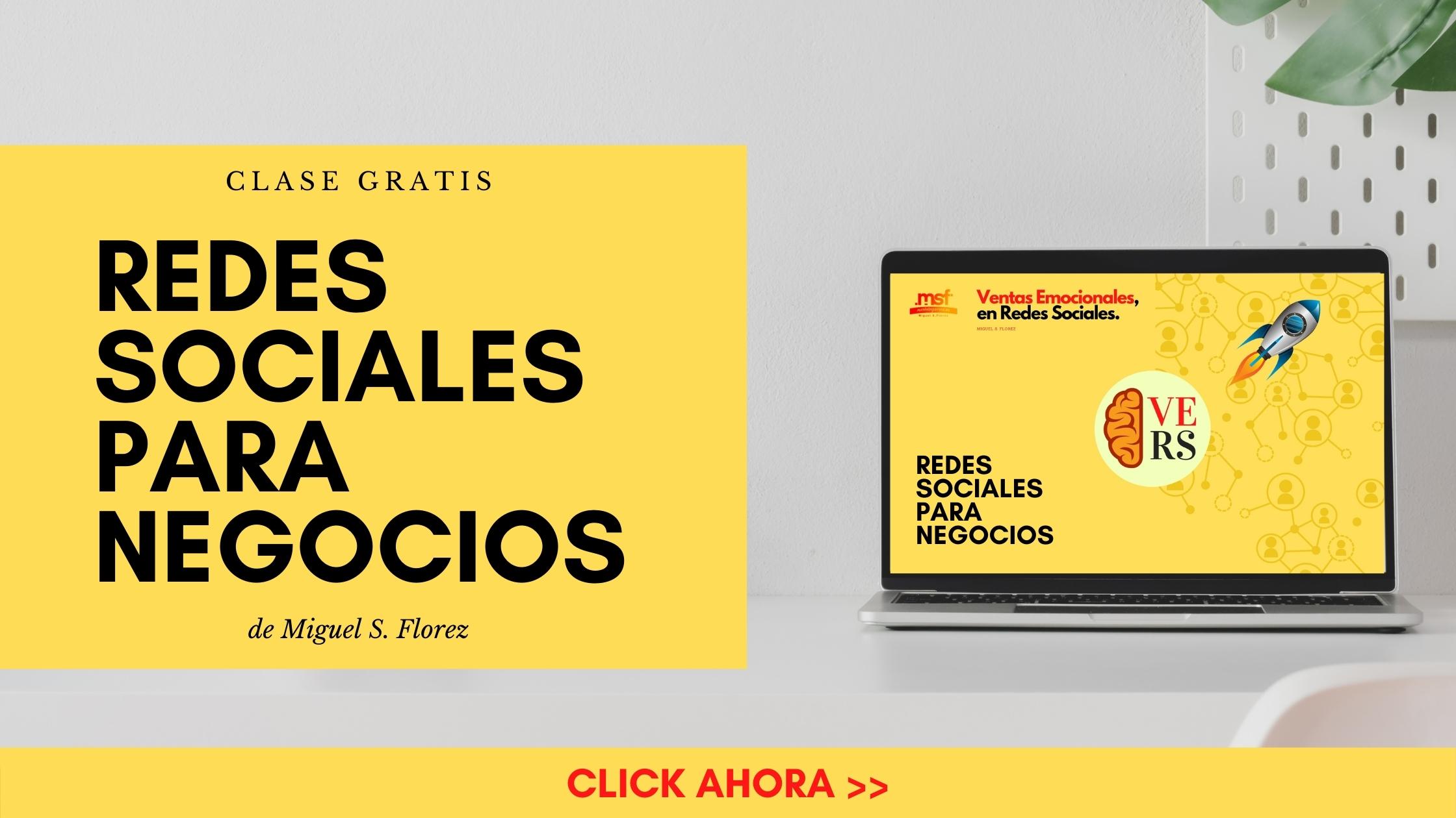 clase gratis de redes sociales para negocios