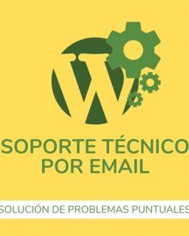 Soporte Técnico para WordPress/Woocommerce por email, para problemas puntuales
