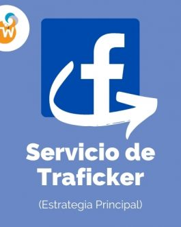 Servicio de Traficker – Estrategia principal de Facebook