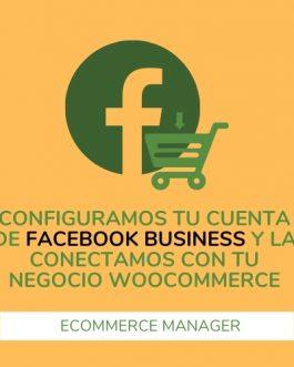Configura tu cuenta Facebook Business
